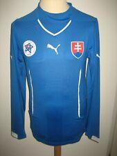 Slovakia PLAYER ISSUE home sfz football shirt soccer jersey trikot size XL