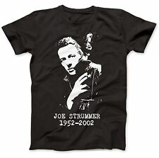 Joe Strummer Tribute T-Shirt 100% Premium Cotton London Calling