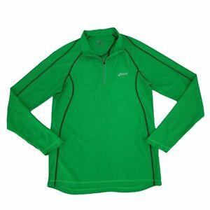 Asics Running Thermopolis Shirt Men's Size S Long Sleeve Quick Dry Thumb Holes