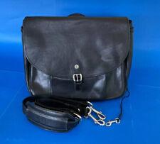 MULHOLLAND BROTHERS. Leather Messenger Bag Brief Case. Handmade in America. YKK