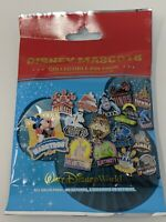 Disney WDW Mascots Mystery Collectible Pin Pack 5 Pins SEALED