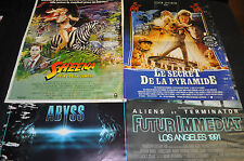 """Abyss Sheena of the Jungle Spielberg 14""""x21"""" Spanish Poster Lot of 4 - ITB WH"""