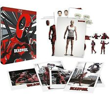 DEADPOOL EDIZIONE STEELBOOK (BLU-RAY + Cards) Ryan Reynolds - Lingua Italiana
