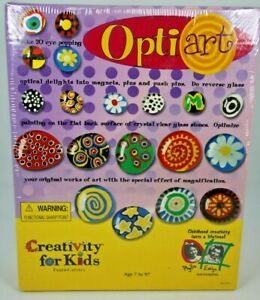 Opti Art Creativity For Kids  Makes 20 Optical Art Projects into different items