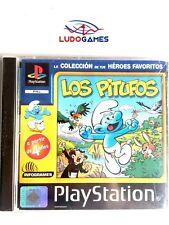 Los Pitufos PSX PS1 Playstation Videojuego Precintado Nuevo Sealed Retro PALSPA