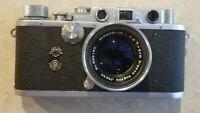 VG Nicca Tower 3S Rangefinder Camera w/ Nikkor H C f: 5cm 1:2 lens (Leica Copy)