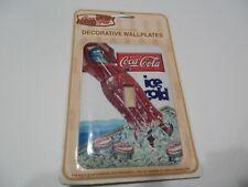 Coca-Cola `Ice Cold` `Single light switch cover plate