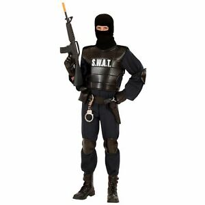 Geheimagent Kostüm Klassisches Agentenkostüm Schwarz Hut Trenchcoat