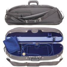 Bobelock 1047V Half Moon Violin Case with Blue Velvet Interior - FAST SHIPPING!