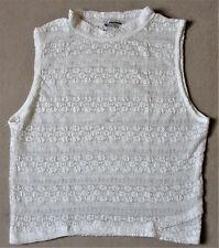 Damen T-Shirt ärmellos/Pullover/Pulli/Shirt/Kleidung/Gr. L (wie S) NEU!!!