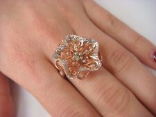 14K ROSE GOLD FLOWER LADIES RING MADE BY MICHAEL ANTHONY 7 GRAMS
