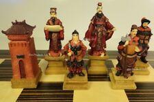 ORIENTAL THREE KINGDOMS Chess Men Set NO BOARD