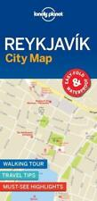 Lonely Planet Reykjavik City Map (Iceland) *FREE SHIPPING - NEW*