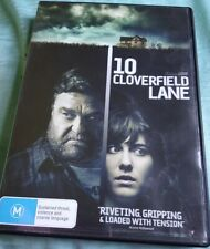 10 CLOVERFIELD LANE DVD GRIPPING LOADED WITH TENSION PSYCHOLOGICAL THRILLER