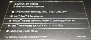 Fujitsu Siemens Amilo Xi 2528/ Notebook / Defekt / Bastler /ohne Funktion Xi2528