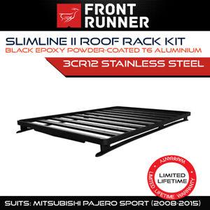 Front Runner Slimline II Roof Rack Kit Fits Mitsubishi Pajero Sport 2008-15 4x4
