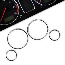 Tachoringe Tacho Chrom Ringe Blenden  BMW 5er E39 + M5 7er E38 X5 E53