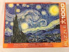 Vincent Van Gogh STARRY NIGHT 1000 Piece Puzzle  Eurographics
