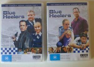 BLUE HEELERS COMPLETE SEASON 2 dvd REGION 4 aussie police show RARE second serie