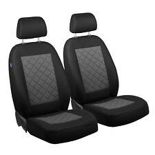 Schwarz-graue Sitzbezüge für FIAT BARCHETTA Autositzbezug VORNE