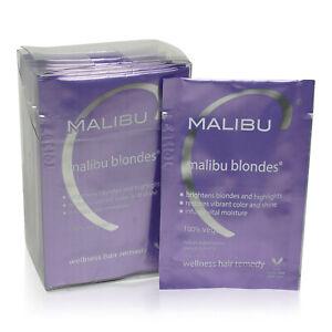 12 x Malibu C • Blondes Weekly Brightener • 0.17 oz each • New • AUTHENTIC