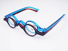 Agstum Designer Small round Oval Vintage Reading Glasses Eyeglasses CE +1 +2 +3