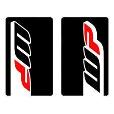 4MX Fork decals WP Noir Autocollants Pour DERBI 50 Senda SM DRD Evo 09-10