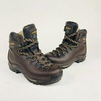 Asolo TPS 520 GV Womens Size 7 Brown Leather Gore-Tex GTX Work Hiking Boots