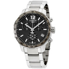 Tissot Quickster Chronograph Stainless Steel Mens Watch T0954171106700