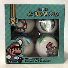 Super Mario World 4-Pack Ornaments