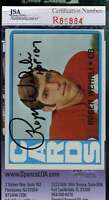 ROGER WEHRLI JSA COA Autographed 1972 TOPPS Authenticated Hand Signed