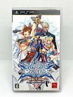 Sony PLAYSTATION Portable - Psp - Blazblue Continuum Shift 2 - Version Japanisch