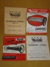 Mélotte Motoculture S.F.M.A. Distributeurs d'engrais ancien manuel de1968