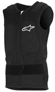 Alpinestars Track Vest 2 Black Motorcycle Protector Vest Sporty Fit
