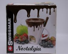 Ceramic fondue cup Mug chocolate Swissmar nostalgiaC1