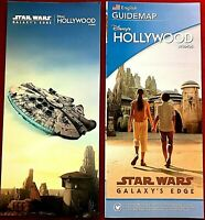 New 2019 Disney Hollywood Studios Galaxy's Edge Opening Day Guide Map