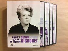 COFFRET 4 DVD / SIMONE SIGNORET / ACTRICES DE LEGENDE / COMME NEUF