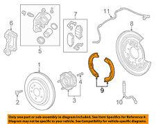 GM OEM Parking Brake-Shoes 22857907