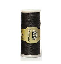 DMC fil Diamant N. D310 35 mètre bobine noir-gratuit UK port et conditionnement