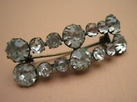 ANTIQUE VICTORIAN  SPARKLY PASTE BROOCH or HAIR DECORATION