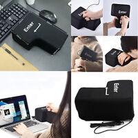 Big Enter Key Anti Stress Relief Supersized Enter Button Unbreakable USB Pillow