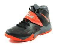 Nike Zoom Soldier VII 599264 402 Basketball Mens Shoes Black White Retro DS Rare