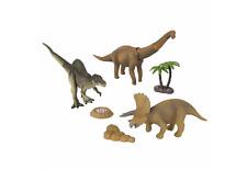 DINO Stomp Value Pack: Triceratopo, Brachiosauro, SPINOSAURUS & accessoreis