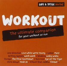 LIFE & STYLE MUSIC: WORKOUT   CD NEU ONE DIRECTION/EUROPE/SHAKIRA/USHER/+