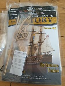 DEAGOSTINI BUILD LORD NELSON'S HMS VICTORY MODEL SHIP ISSUE 86 UNOPENED