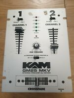 KAM GM25 MKV STEREO PREAMP DJ MIXER