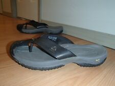 KEEN WAIMEA SLIP ON SANDALS,RECYCLED MATERIAL,BLACK,WOMEN'S US 10/MEN'S 8/EU40,5