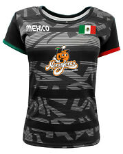 Women Jersey Mexico Naranjeros de Hermosillo 100% Polyester Black/Grey