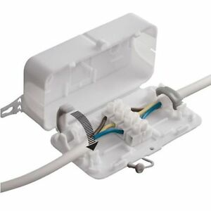 In-Line Connector Box with 4-Pole Terminal Block Hylec Debox Flex Joiner 6W