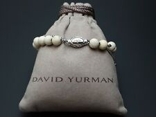 David Yurman Women's Spiritual Bead Bracelet with Riverstone & Accent 8mm